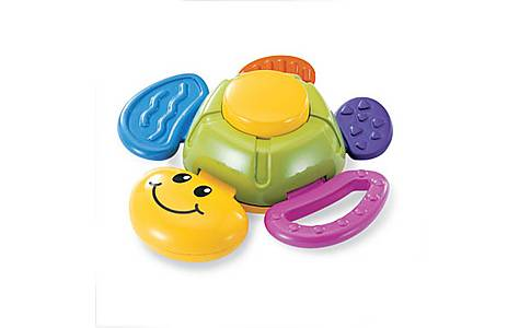 image of Bkids Turtle Baby Rattle