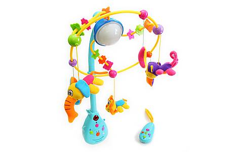 image of Bkids Remote Control merry Go Round Baby Toy