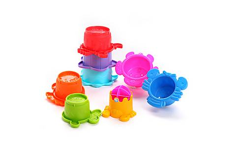 image of Bkids Stackso Fun Bath Toy