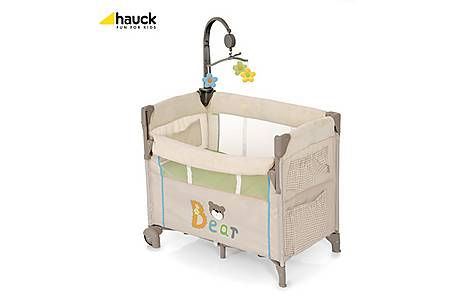 image of Hauck Dreamn Care Center Travel Cot Bear