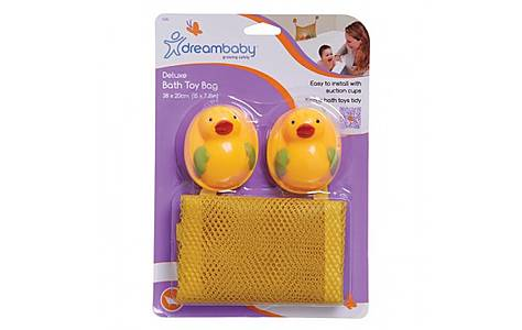 image of Dreambaby Bath Toy Bag Deluxe