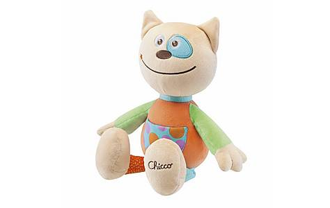 image of Chicco Soft Cat Toy