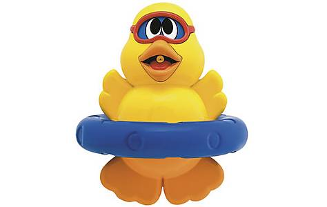 image of Chicco Bath Rubber Duckling - Spin N Squirt Duckling