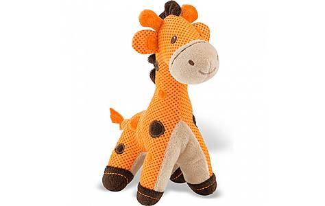 image of Breathable Baby Breathable Giraffe Toy