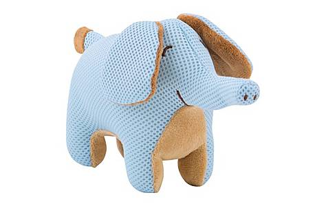 image of Breathable Baby Breathable Elephant Toy