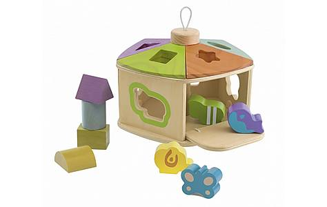 image of Chicco Toy Cottage Shape Sorter