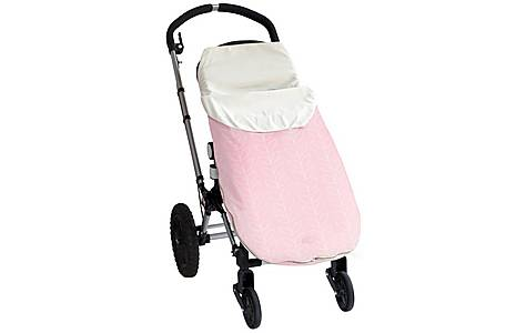image of Jj Cole Toddler Bundle Me Lite Pink Leaf (1-3 Years)