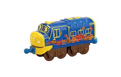 image of Chuggington Leaf Covered Brewster Train