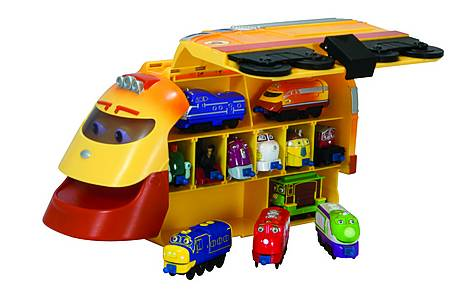 image of Chuggington Action Chugger Carry Case