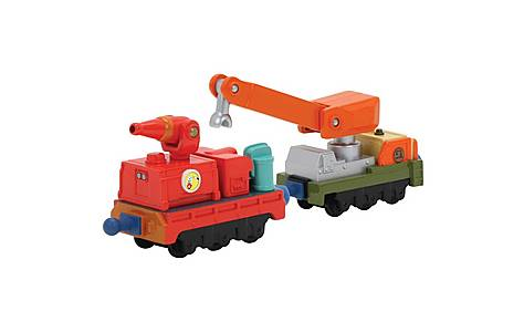 image of Chuggington Calleys Fire And Rescue - 2 Pack