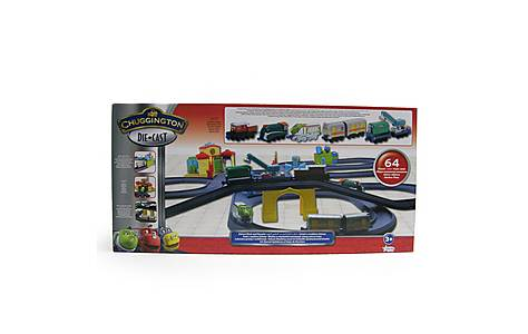 image of Chuggington Deluxe Wash & Recycle Playset
