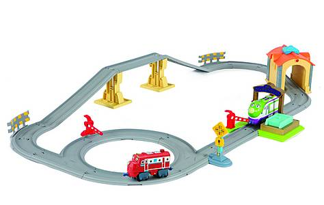 image of Chuggington Koko And Wilson Interactive Tunnel Playset