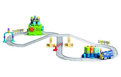 image of Chuggington Wash & Fuel Set + Interactive Wilson Train
