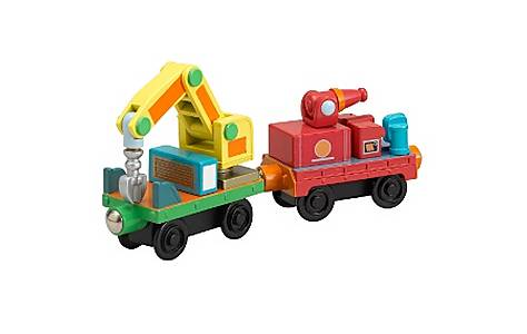image of Chuggington Rescue Cars - 2 Pack  (wood)