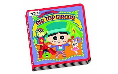 image of Lamaze Little Big Top Circus Book
