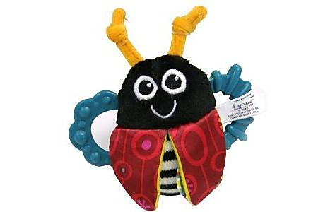 image of Lamaze Flip-flop Bug Rattle