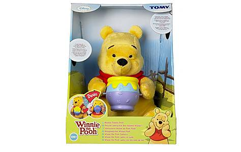 image of Tomy Winnie The Pooh Rumbly Tumly Pooh