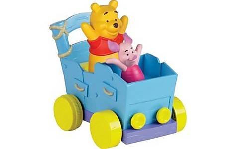 image of Tomy Winnie The Pooh Push n Play Buddy Buggy