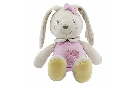 image of Chicco Soft Colour Bunny Pink