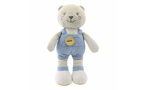 image of Chicco Soft Colour Blue Bear