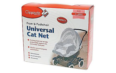 image of Clippasafe Universal Cat Net For Strollers & Pushchairs