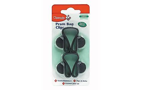 image of Clippasafe Stroller Bag Clips