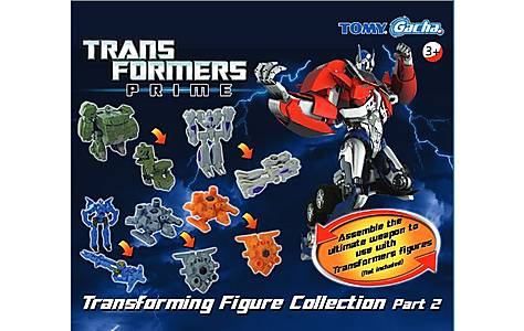 image of Tomy Transformers Transforming Figure