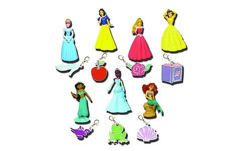 image of Tomy Princess Figures & Charms Combo