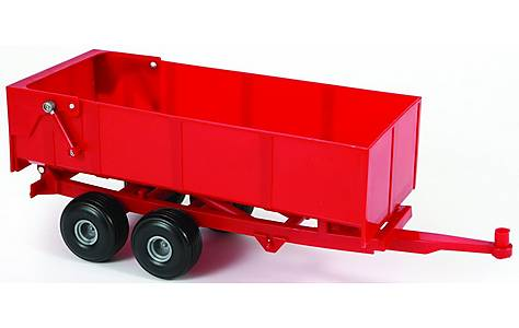 image of Britains Big Farm Bulk Tipping Trailer - Red