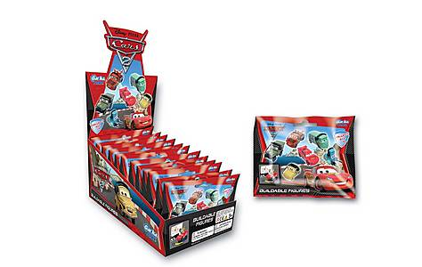 image of Tomy Disney Cars 2 Buildable Figures Sachet