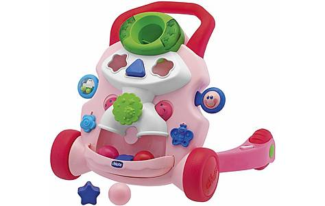image of Chicco Baby Steps Activity Walker - Pink