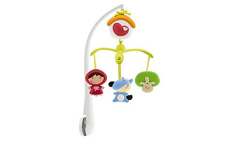 image of Chicco Fairy Tale - Little Red Riding Hood Cot Mobile