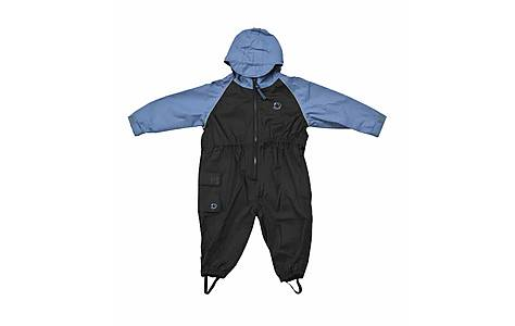image of Hippychick Waterproofs - All-in-one Suit - Blue/black (18-24 Months)