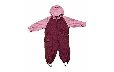 image of Hippychick Waterproofs - All-in-one Suit - Pink/plum (12-18 Months)