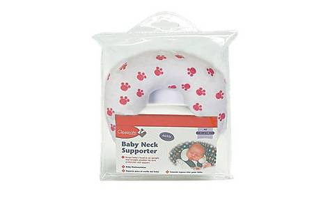 image of Clippasafe Baby Neck Support Pink