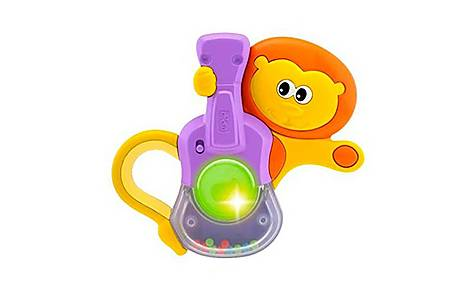 image of Chicco Baby Senses Musical Lion Rattle