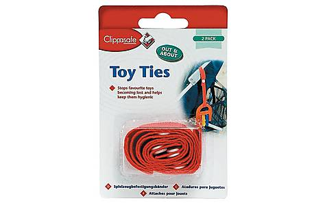 image of Clippasafe Toy Ties (2 Pack)