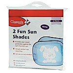 image of Clippasafe Fun Sun Screens (2 Pack)