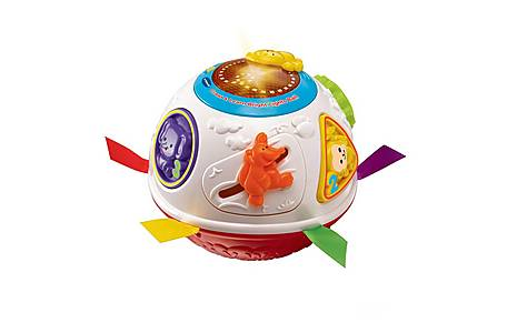 image of Vtech Crawl And Learn Bright Lights Ball Orange