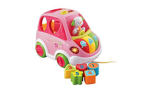 image of Vtech Sort And Learn Car Pink