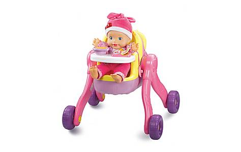 image of Vtech Little Love 3 In 1 Pushchair