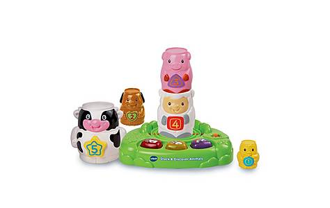 image of Vtech Stack & Discover Animals