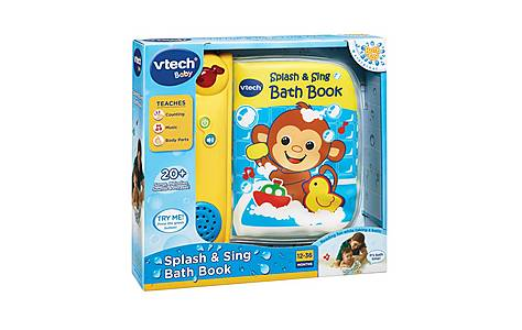 image of Vtech Splash & Sing Bath Book