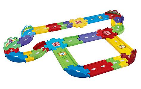 image of Vtech Toot-toot Drivers Deluxe Track Set