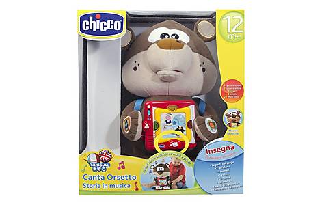 image of Chicco Musical Story Teller Abc Bear