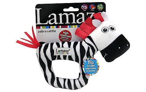 image of Lamaze High Contrast Zebra Rattle