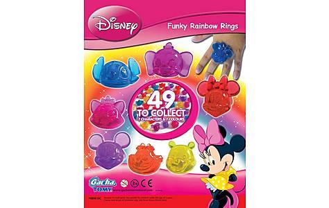 image of Tomy Disney Funky Rainbow Rings
