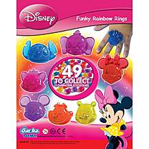 image of Tomy Disney Funky Rainbow Rings