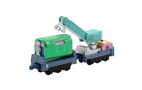 image of Tomy Chuggington Irvings Rubbish & Recycling - 2pk (die Cast)