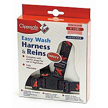 image of Clippasafe Designer Easy Wash Harness & Rein (airplanes)